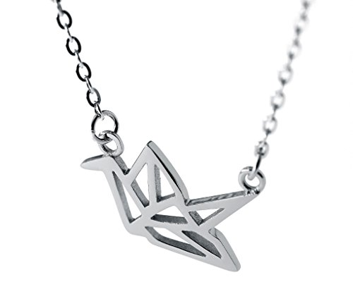 Silver 12mm Origami - 2
