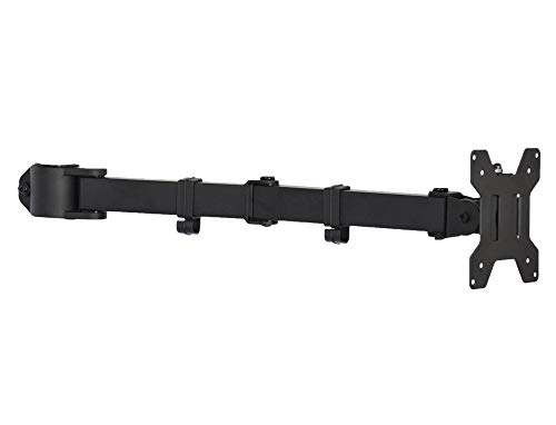 VIVO Black Fully Adjustable Single Monitor Arm for Desk Mount Stand | Monitor Arm for One (1) Screen up to 27