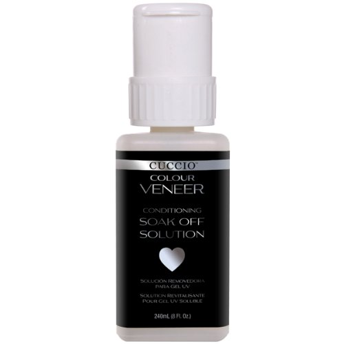 Cuccio Veneer Conditioning Soak Off Solution Nail Polish Rem