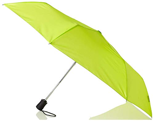 Lewis N. Clark Windproof and Water Repellent Travel Umbrella, Green (Green Lime Umbrella)