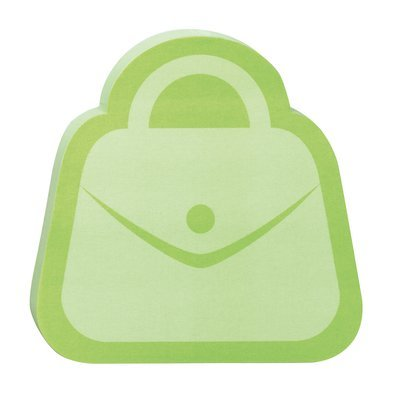 Post-it Super Sticky Notes, 3 x 3 Inches, Pack of 2 pads (Green Purse)