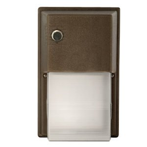 Hubbell 03003 - 18 watt 120 volt Bronze 12 LED Wall Pack with Photocontrol (NRG-312LU-5K-BZ-PC) (Hubbell Led Wall Pack compare prices)