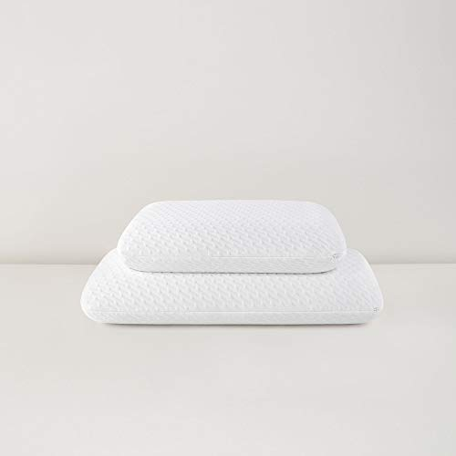 Tuft & Needle Premium Pillow, King Size with T&N Adaptive Foam, Sleeps Cooler & More Supportive Than Memory Foam Pillows, Hypoallergenic Cover, Certi-PUR & Oeko-Tex 100 Certified, 3-Year True Warranty