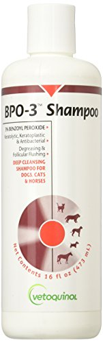 Vetoquinol BPO 3 Shampoo 3 Benzoyl Peroxide