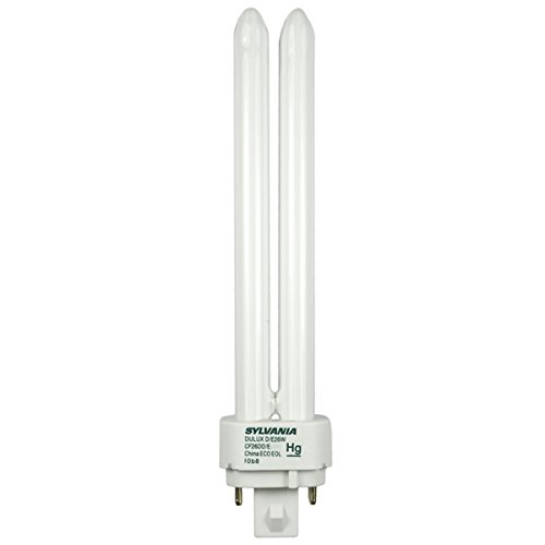 sylvania-20673-compact-fluorescent-4-pin-double-tube-3500k-26-watt