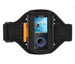 Griffin Tempo Armband Case for Sansa e200 Series MP3 Players (Black)