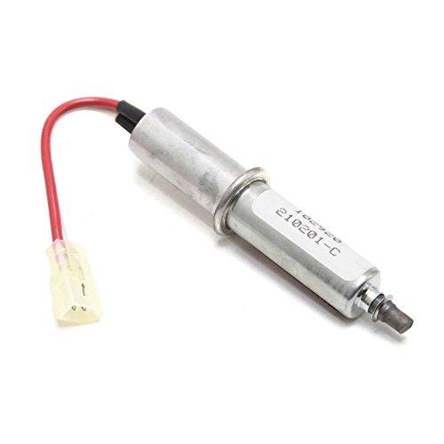 218284700 Refrigerator Dispenser Ice Chute Door Motor Genuine Original Equipment Manufacturer (OEM) Part