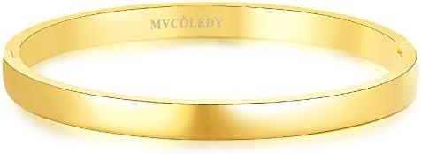 MVCOLEDY Bracelet Polished Minimalist Stainless product image