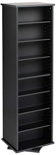Prepac Two-Sided Spinning Tower Storage Cabinet, ()