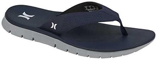 Hurley Mens Fusions Sandal Obsidian