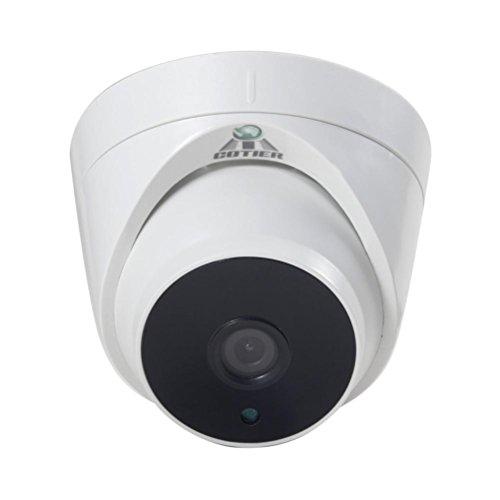 Creazy 2MP Security Camera 1080P CMOS Analog HD Indoor Night Vision Surveillance Camera