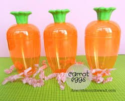 18 Easter Fillable Eggs - Carrots