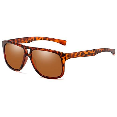 Joopin Fashion Oversized Mens Sunglasses Polarized - 100% UV Protection Retro Sunglasses for Women E8943 (Double Bridge - Bridge Mens Brown