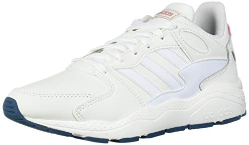 adidas Women's Chaos Track and Field Shoe, Cloud White/Cloud White/Tech Mineral, 9 Standard US Width US