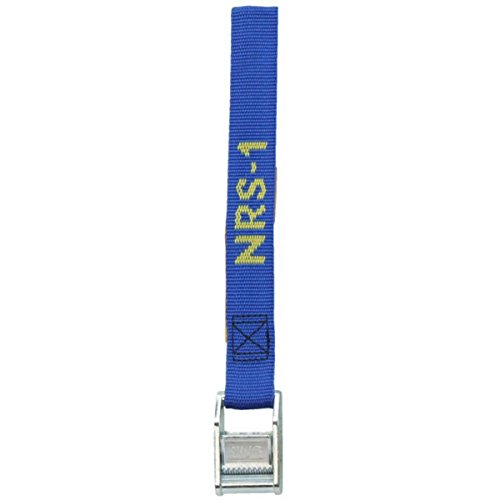 NRS 1 Inch HD Tie Down Straps - Blue 3 Foot Single