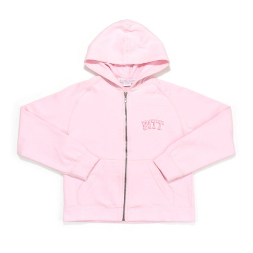 NCAA Pittsburg Girl's Pink Lucky Long Sleeve Fleece Hoody