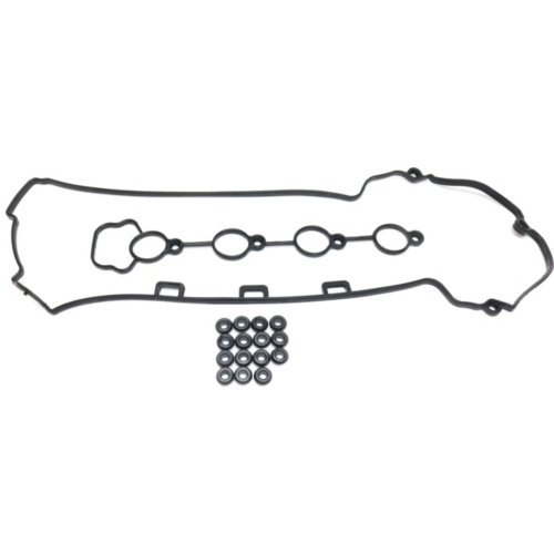 Valve Cover Gasket compatible with Honda Civic/CR-V 02-13 Set W/Seals and Grommets 4 Cyl 2.0L/2.4L Eng.