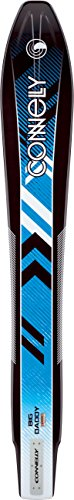 Ho T-jet Body (Connelly Big Daddy Slalom 2016 Factory Blemish Front Adjustable Binding Water Ski for Age (5-13), 68
