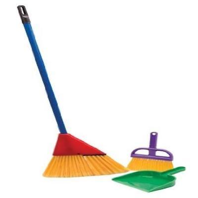 Toddler Toy Little Helper Broom Set Kids Pretend Play Pre-School Young Children ()