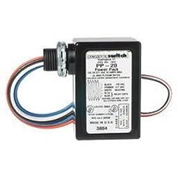 Sensor Switch Power Pack PP20-2P Occupancy Sensor 120 277 VAC 20A Power Relay Pack