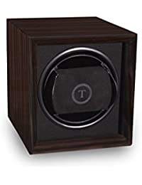 Single Watch Winder For Men's Automatic Watches Macassar Ebony