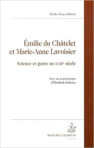 Livre gratuits Émilie du Châtelet et Marie-Anne Lavoisier. Science et genre au XVIIIe siècle. epub, pdf