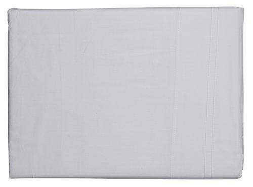 Sheridan Bettvolant für Super King Size, ägyptisches Baumwollsatin, Fadendichte 600, 180x203x43cm, weiß