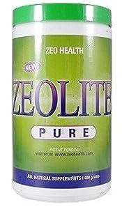 Zeo Health Zeolite Pure 400 gram Powder