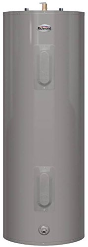 40 Gallon Electric Hot Water Heater (RHEEM 6E40-D 2492488 240V 4500W Richmond Essential Tall Electric Water Heater with Top T&P Relief Valve, 40 gallon)
