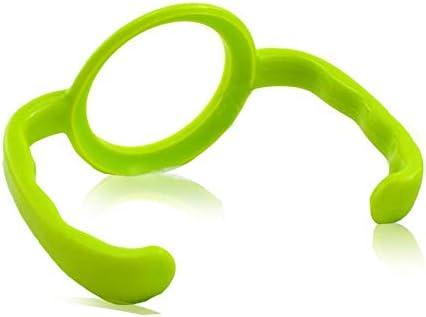 FairOnly Baby Glas PP Flaschengriff Teile Universal Standard Kaliber grün