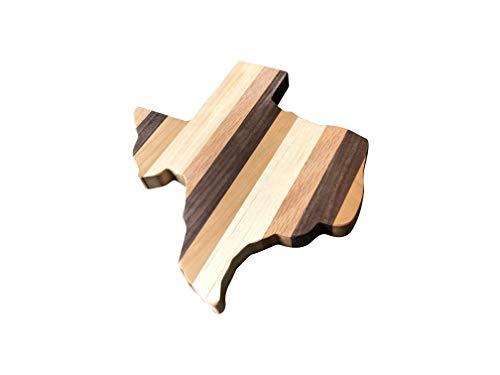 (Wooden Texas Cutting Board, Wall Decor, TX State Shaped, Food Grade, Solid Wood Cutting Board 10