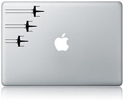 Fighter Vinyl Sticker Compatible MacBook