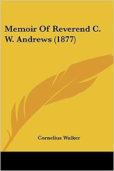 Torrent Descargar Español Memoir Of Reverend C. W. Andrews Epub Sin Registro