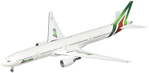 Gemini Jets Alitalia B777-300ER EI-WLA 1:400 Scale Diecast Model Airplane