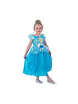 DISBACANAL Disfraz Cenicienta Princesa para niña - Único, 3-4 años ...