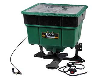 Lesco Truckster 2 Electric 12-Volt Mountable Broadcast Spreader - 102479