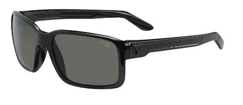 Cebe Dude Sport Active FM Green 1500 Lens Category 3 Sunglasses - Shiny Black/Cristal Yellow, X-Small by - Lenses 1500 Cebe