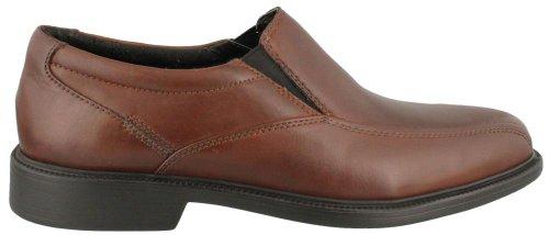Bostonian Men's Bolton Dress Slip-On,Brown Leather,10.5 W US (Brown Slip On)