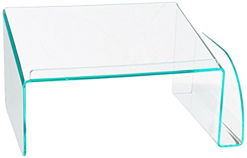 Lorell Phone Stand, Clear/Green (Lorell Side Table)