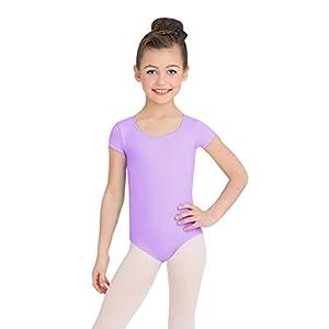 Capezio Girls' Little Team Basic Short Sleeve Leotard