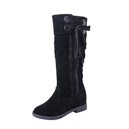 Clearance! AOJIAN Women Sweet Boot Stylish Flat Flock Shoes Snow Boots