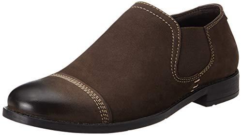Burwood Men's Brown Leather Formal Shoes-10 UK (44 EU) (BW 376)
