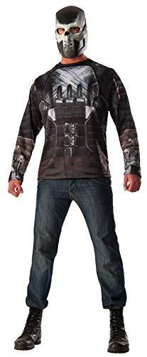 Rubie's Men's Captain America: Civil War Crossbones Costume Top, Multi, Extra-Large