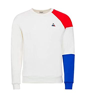 Le Coq Sportif - Sudadera Enfant New Optical - 180910 1821258 - Blanco, 8A: Amazon.es: Ropa y accesorios