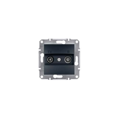 Schneider Electric eph3300271/Socket TV//FM Intermediate Anthracite