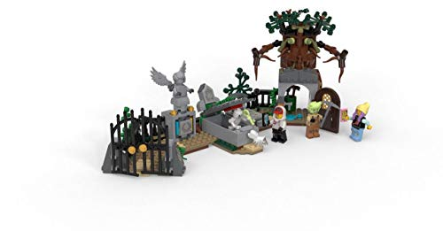 31UJQ6G%2BDHL - LEGO Hidden Side Graveyard Mystery 70420 Building Kit, App Toy for 7+ Year Old Boys and Girls, Interactive Augmented Reality Playset, New 2019 (335 Pieces)