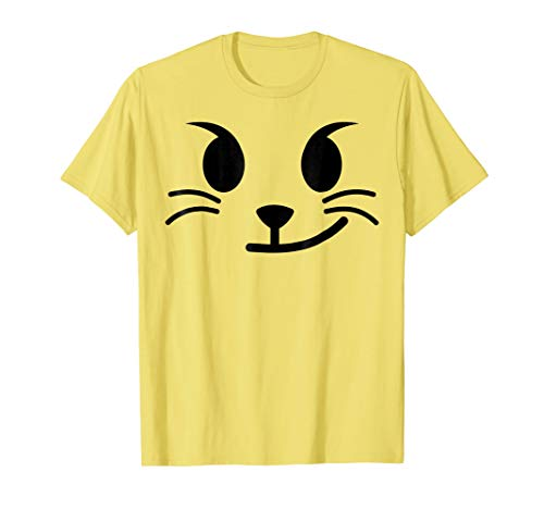 Halloween Emojis Costume Shirt Cat Face Wry Smile