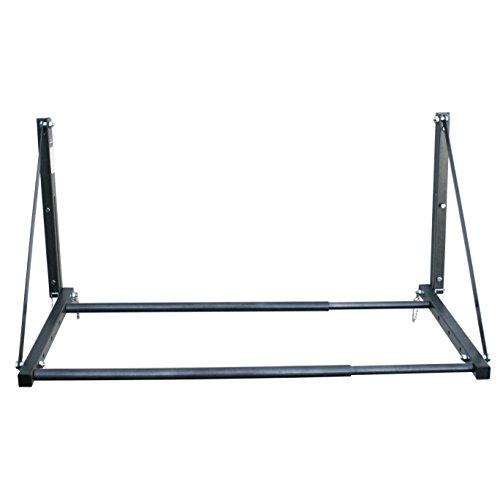 The Wheel Rack - MaxxHaul 70489 - 300 lb. Capacity Foldable and Adjustable Wall Mount Tire Rack