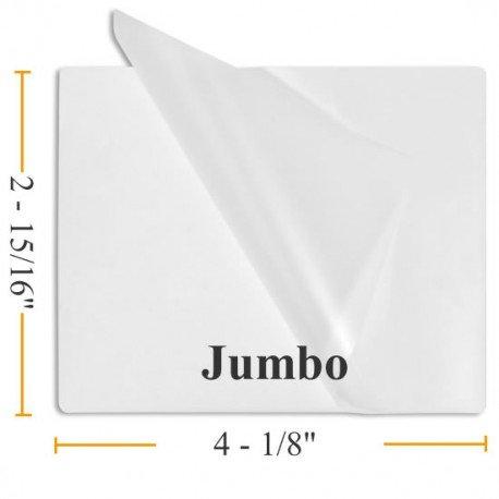 10 Mil Jumbo Card 2 15/16 x 4 1/8 - 100 Laminating Pouches - Guardian Choice Paper Finishing Supplies