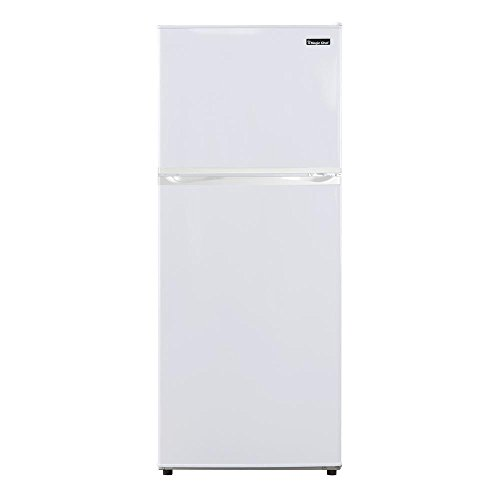 Magic Chef 9.9 cu. ft. Top Freezer Refrigerator White by Magic Chef